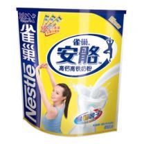 Nestle/雀巢 安骼高钙高铁奶粉400g*6袋