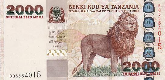 坦桑尼亚钱币