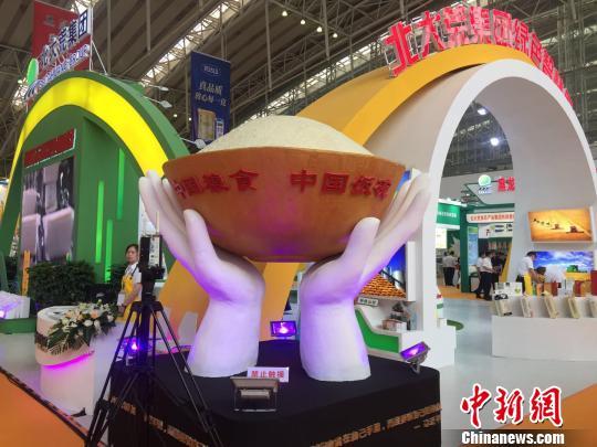 北大荒·首届中国农垦食材交易会在哈尔滨开幕