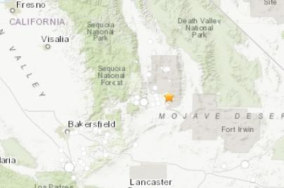 6.4级、6.9级!美加州连续两天遇强震 地震网打不开了