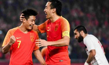 China rebound in style as Lippi seeks salvation after disastrous spell