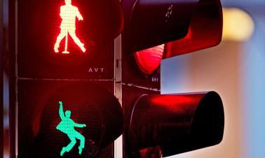 Creative traffic lights around world