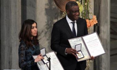 Congolese gynecologist, Yazidi human rights activist receive 2018 Nobel Peace Prize
