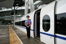 "CRH3""和谐号""动车组的列车员"