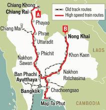 中泰高铁项目规划图