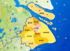 上海区域划分