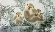 吕思明作品《美猴图》