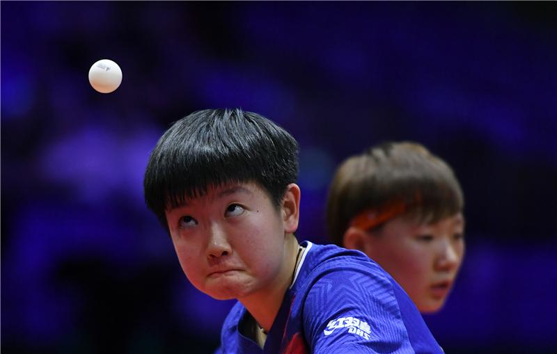 孙颖莎,好样的!河北运动员时隔15年再夺世乒赛冠军
