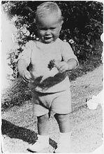 布什早期的黑白照片