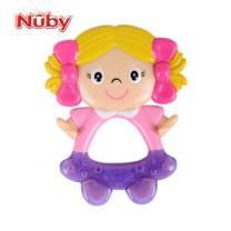 美国Nuby/努比婴儿宝宝磨牙棒儿童专用可爱舒适按摩固齿器牙胶新生儿 女孩儿