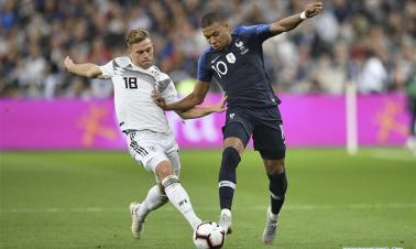 France beat Germany 2-1 in UEFA Nations League soccer match