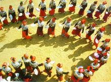 景颇族庆祝目瑙纵歌节