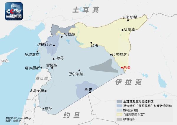 """叙媒:美领导""""国际联盟""""在叙空袭致17平民死亡"""