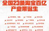 23条淘宝百亿产业带贯通南北,数字中国活力潮涌