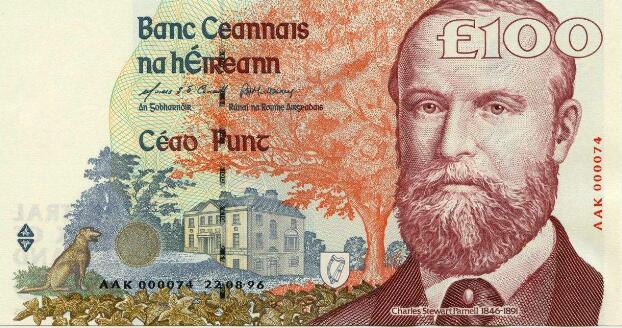 爱尔兰纸币