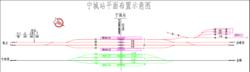 宁城站平面布置图