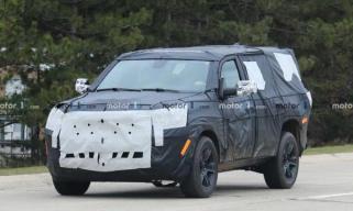 旗舰车型将重生 Jeep大瓦格尼谍照曝光