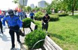 环保毅行为东阳创文明城市营造氛围