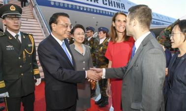 Chinese premier arrives in Belgium for working visit, ASEM summit