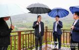 平阳县委书记章寿禹调研未来乡村建设和全域环境整治