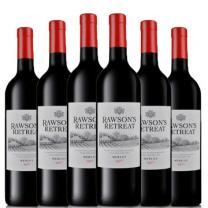 奔富 澳大利亚奔富红酒洛神山庄奔富梅洛干红葡萄酒750ml*6红酒整箱