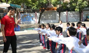 Insulting nicknames are a no-no in Guangdong schools