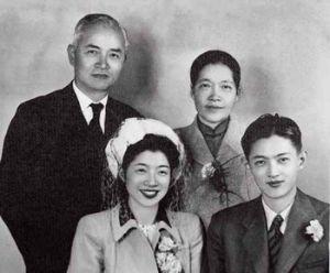 李四光与家人