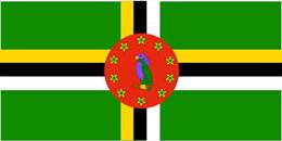 多米尼克 国旗