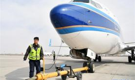 Technicians face more maintenance tasks during Spring Festival travel rush in Lanzhou Zhongchuan Int'l Airport