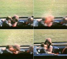 记录肯尼迪中弹时的真实影像