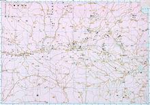 商时期中心区域图