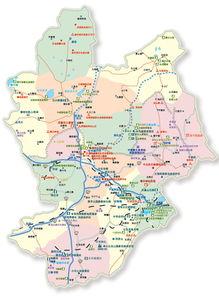 张家口市地图