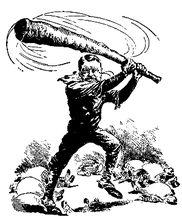 关于罗斯福反垄断的漫画