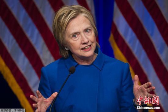 希拉里警告总统候选人:你们的邮箱早晚会被盗