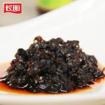 四川麻辣豆豉酱农家自制 长明牛肉风味麻辣豆鼓下饭酱 300g*3瓶装