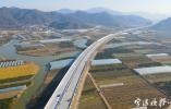 高速石浦連接線已全線貫通 預計今年12月底前通車