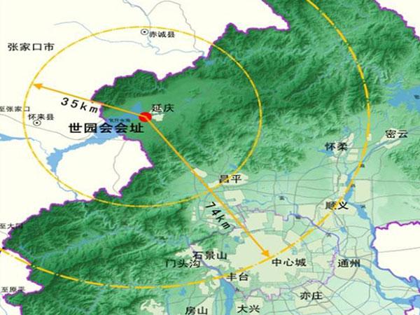 北京世园会位置