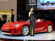 2010中国(广州)国际汽车展览会展车模特