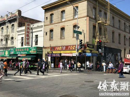 舊金山中國城將安裝公共安全錄影機 增加巡邏警員