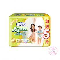 安儿乐 Anerle 超能吸婴儿纸尿裤XL37片*4包(13kg以上)