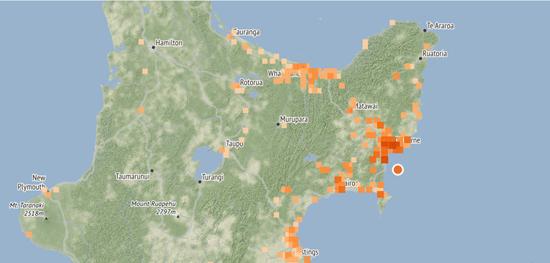 新西兰火山爆发后又发生5.3级地震
