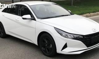 第七代伊兰特1.4T车型曝光 或9月底上市