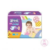 安儿乐 Anerle 小轻芯婴儿纸尿裤M38片*4包(5-10kg)