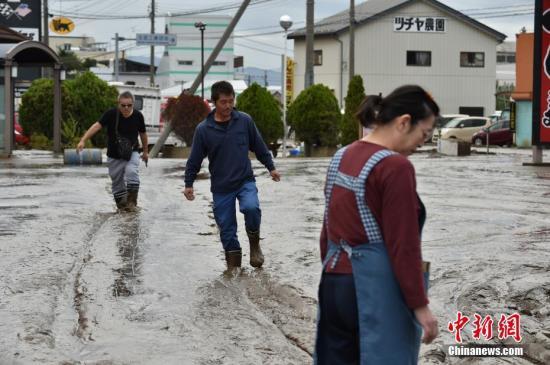 台风重创日本致至少78人死 4000余人仍在避难
