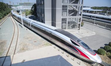 China's new bullet train gets longer