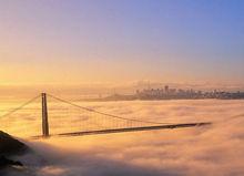 雾中的金门大桥