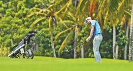 中国男子高尔夫职业巡回赛博鳌公开赛开赛
