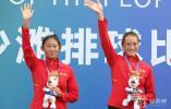 第十四届全运会沙滩排球女子U17以下组决赛江苏队包揽金银牌