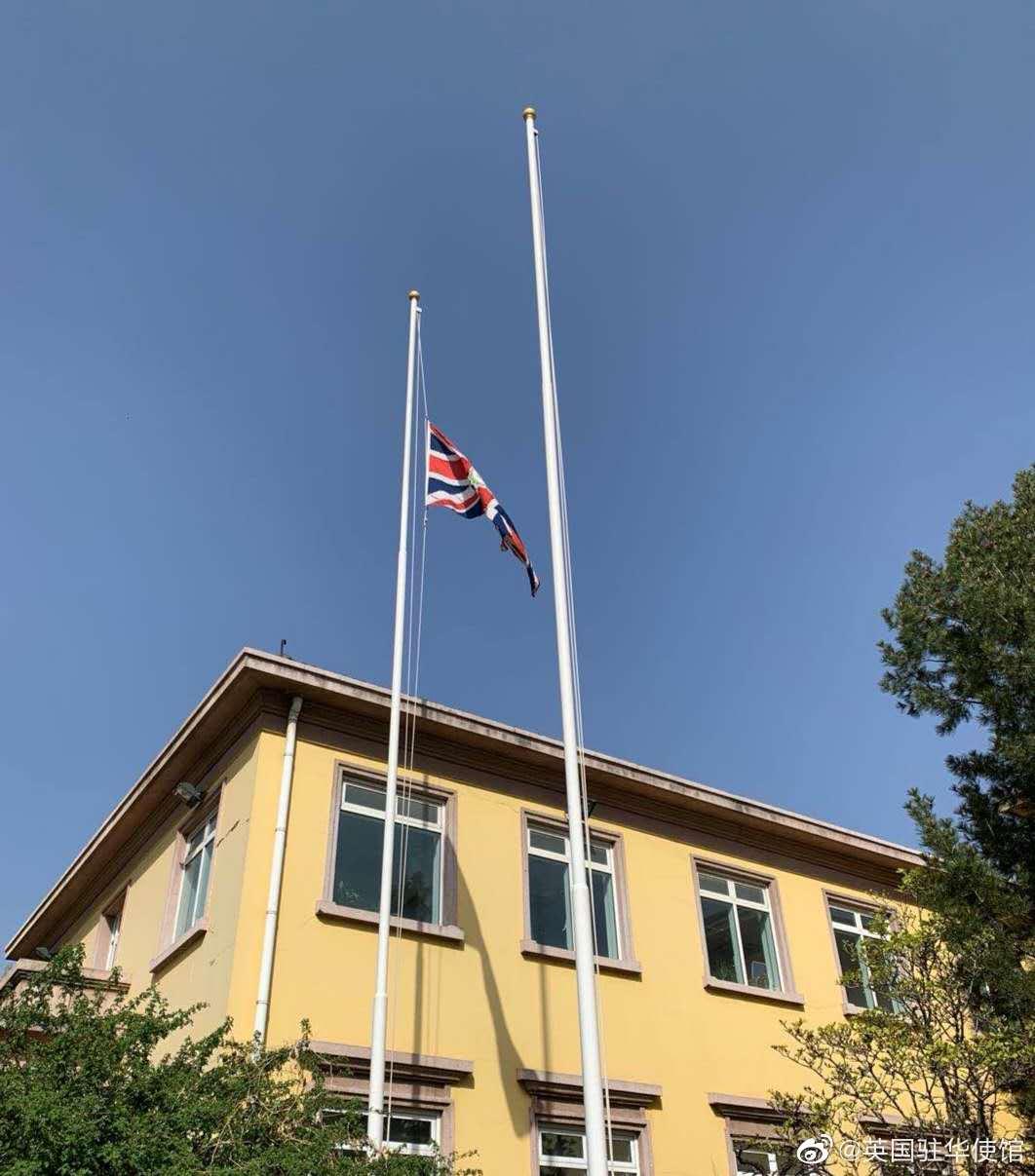 降半旗、发悼文,多国驻华使馆参与中国全国哀悼日活动