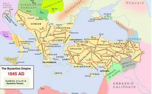 马其顿王朝疆界与军区区划